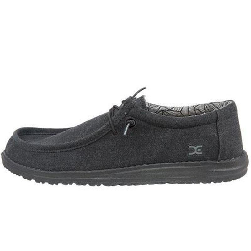 Mens Wally Canvas Work Shoe