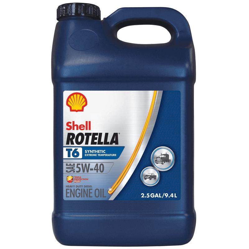 Rotella T6 Full Synthetic Diesel Oil