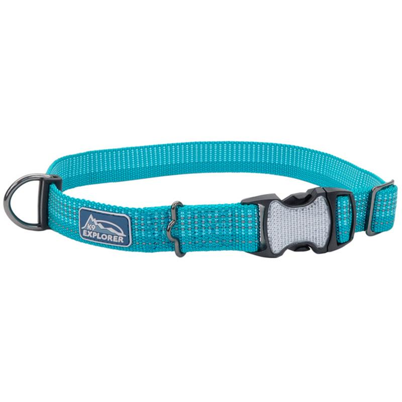 K9 Explorer ® Brights Reflective Adjustable Dog Collar - 5/8