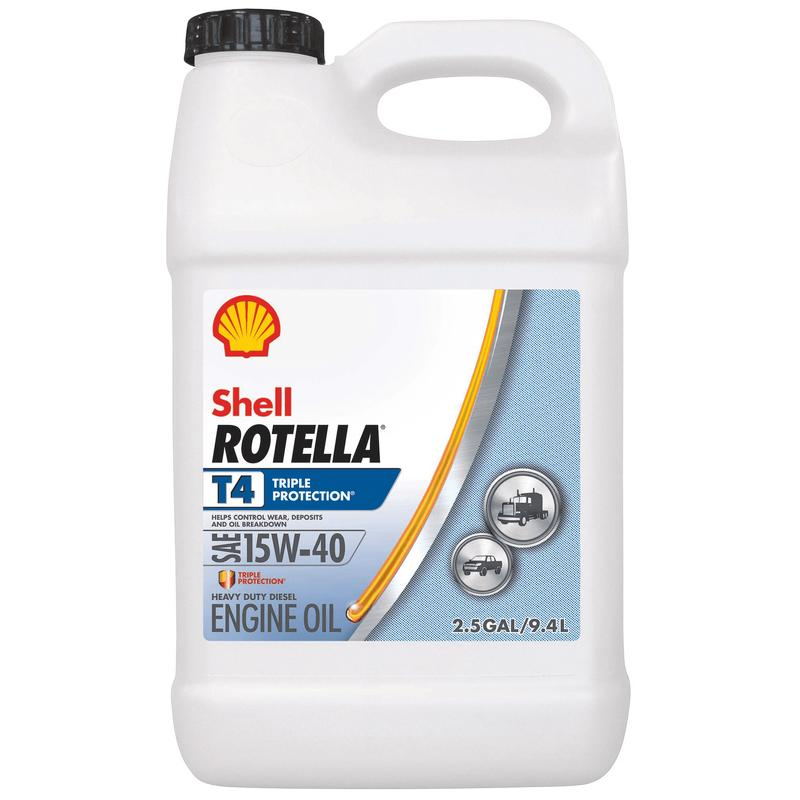 Rotella T4 Triple Protection Diesel Oil