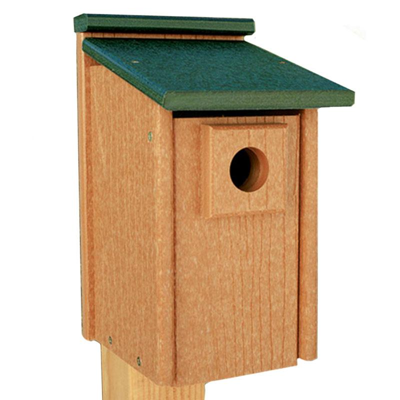 Recycled Materials Bluebird House