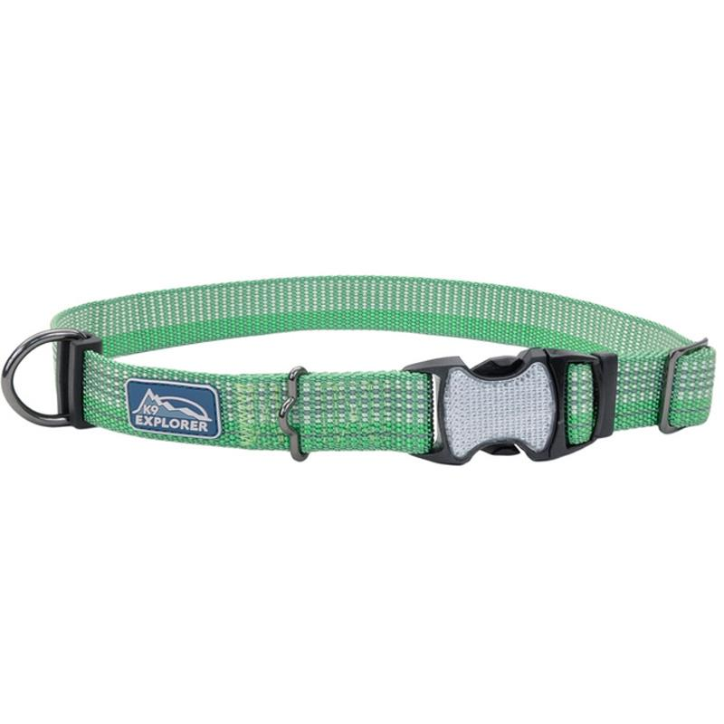 K9 Explorer ® Brights Reflective Adjustable Dog Collar - 1