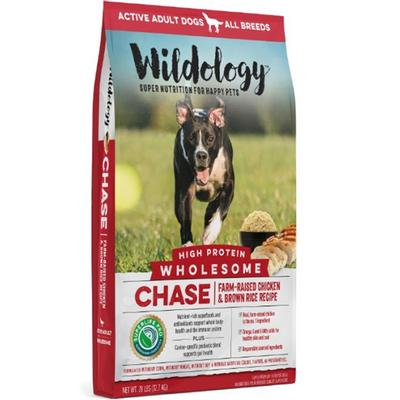 Chase Wholesome High Protein Chicken & Brown Rice Dog Food
