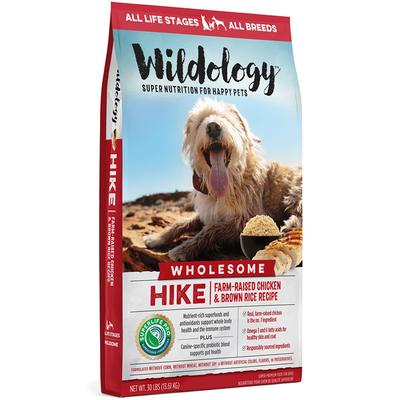 HIKE Farm-Raised Chicken & Brown Rice Dog Food