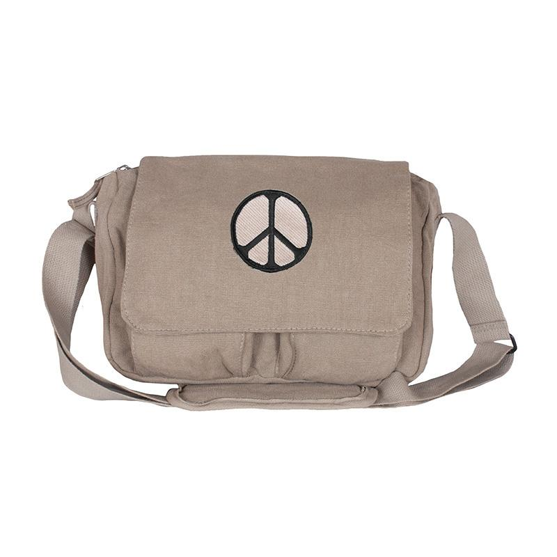 Retro Departure Bag - Peace