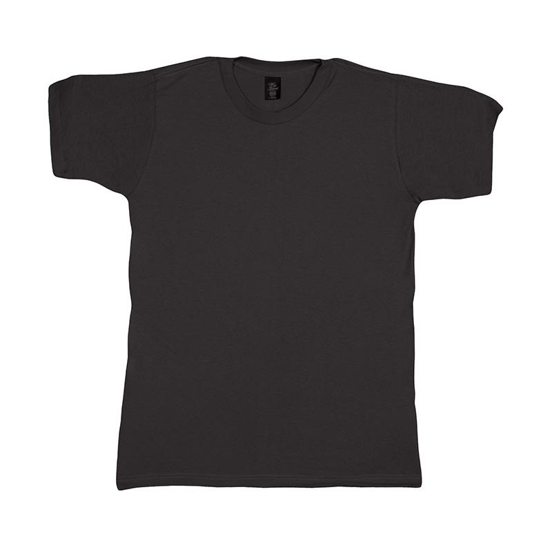 Short Sleeve T- Shirt - Black