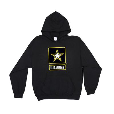 Hooded Sweatshirt - U.S. Army Star