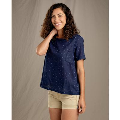 Women's Indigo Swing Top