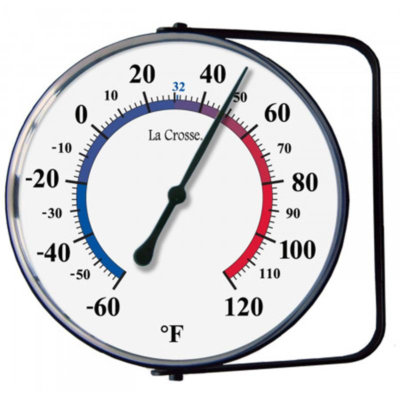 5 Inch Thermometer With Bracket