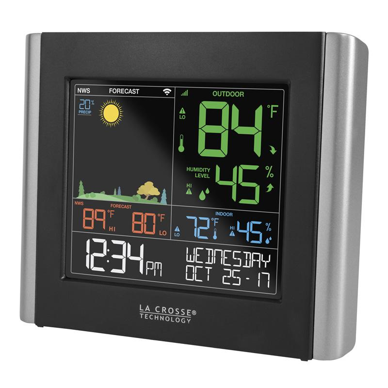 Remote Monitoring Color Weather Station