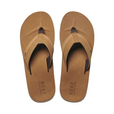 Men's Leather Contoured Cushion Sandal