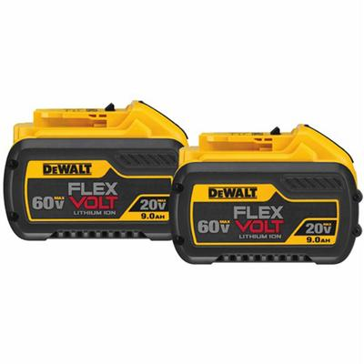 20V/60V MAX* FLEXVOLT 9.0 Ah Battery 2pk