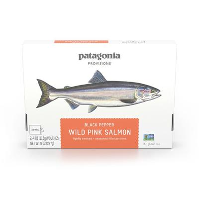 Wild Pink Salmon (2-4oz pouches)