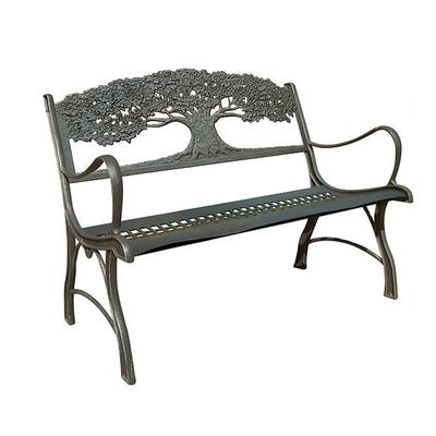 Cast Iron Garden Loveseat - Tree