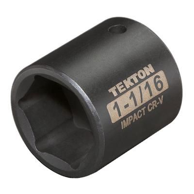 TEKTON 1/2 Inch Shallow 6-Point Impact Socket (SAE)