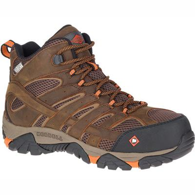 Men's Moab Vertex Mid Waterproof Comp Toe Work Boot