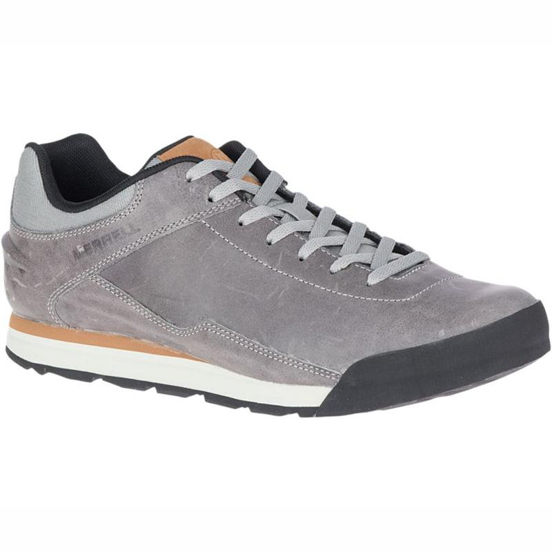 Men's Burnt Rocked Leather Shoe
