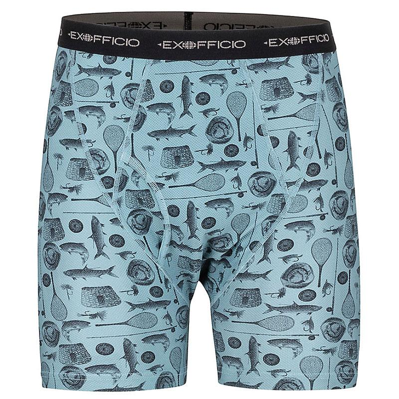 Mens Give- N- Go Printed Boxer Brief