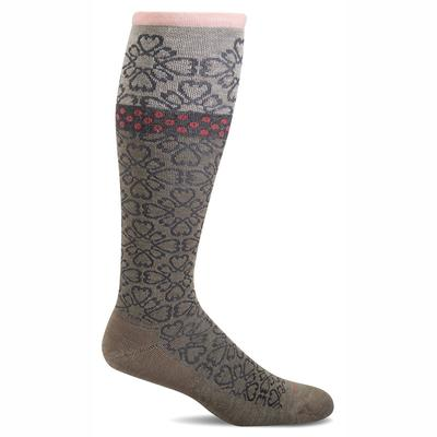 Women's Botanical Graduated Compression Sock