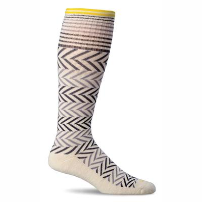 Women's Chevron Graduated Compression Sock