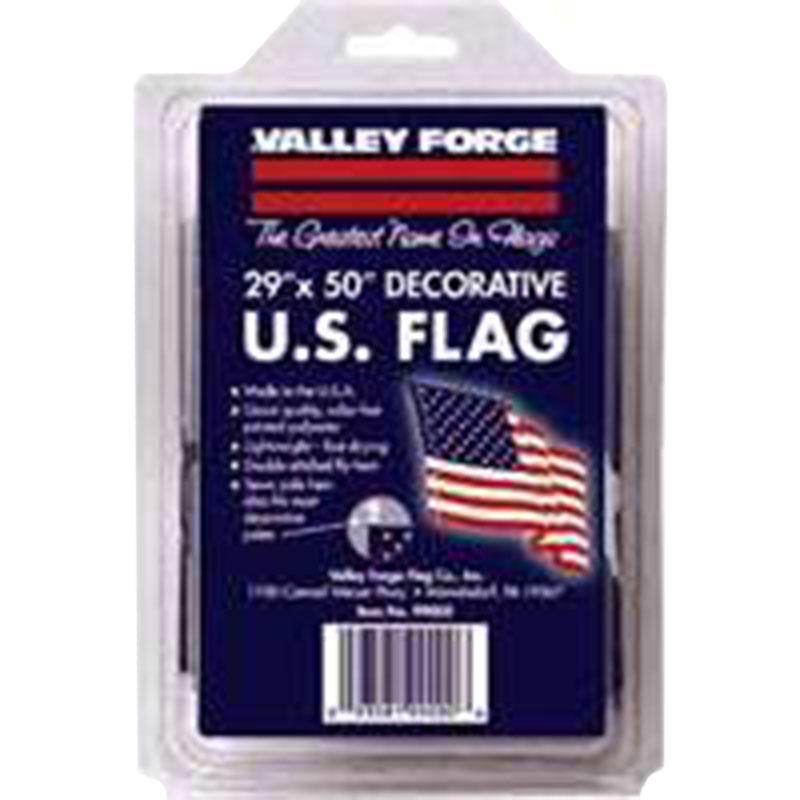 2.5 ' X 4 ' Poly U.S.Flag W/Sleeve