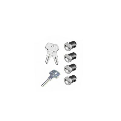 SKS Lock Cores with Keys - 4 Pack