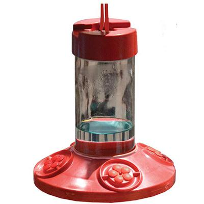 Dr Jb's Clean Feeder, Red, 16-Ounce
