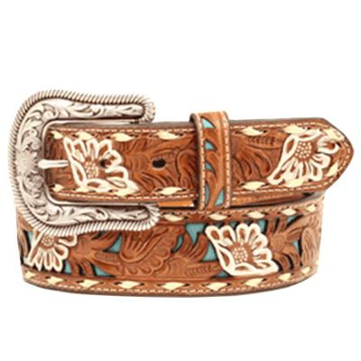 Nocona Tooled Ladies Belt