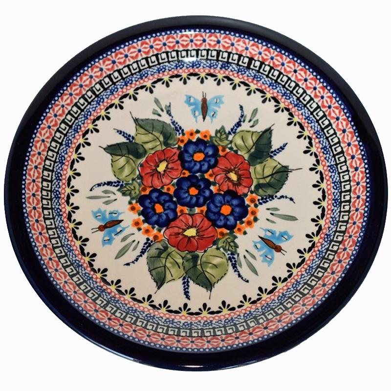 Butterfly Merry Making Stoneware Dinner Plate