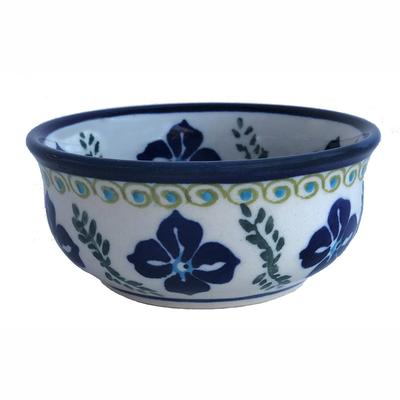 Floral Royal Small Stoneware Bowl