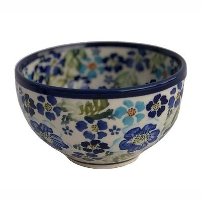 True Blues Rice Stoneware Bowl