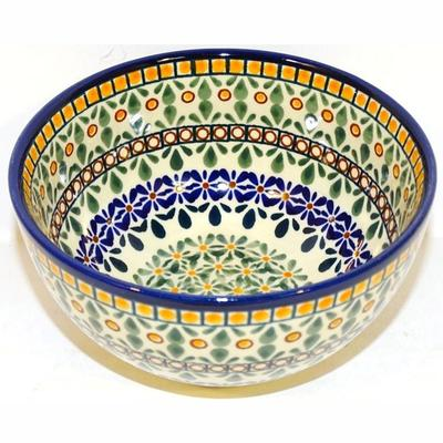 Enchanting 2-Cup Stoneware Cereal-Salad Bowl