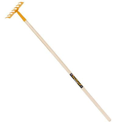 Kids' Garden Rake on Hardwood Handle