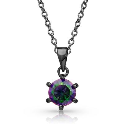 Northern Lights Solitaire Necklace