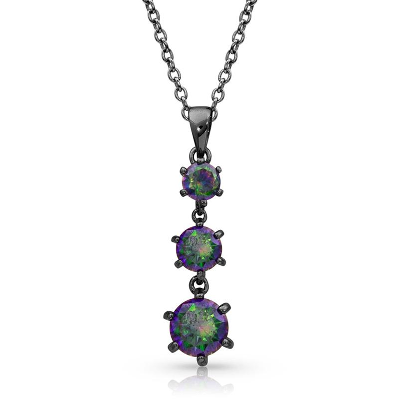 Northern Lights Tiered Necklace