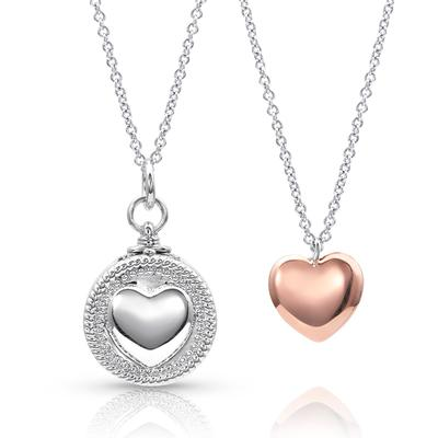Every Second Counts Heart Locket Necklace
