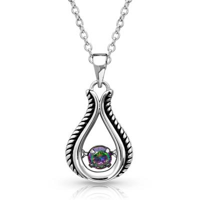 Northern Light Dancing Bud Necklace
