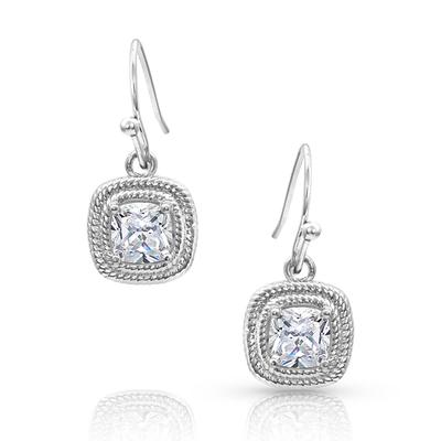 Squarely Brilliant Wrapped Earrings