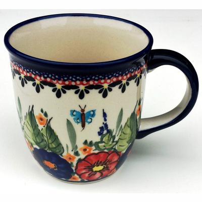 Butterfly Merry Making 12oz Stoneware Mug