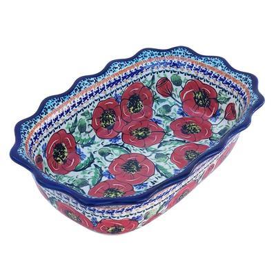 Bellissima Fancy Stoneware Serving Dish
