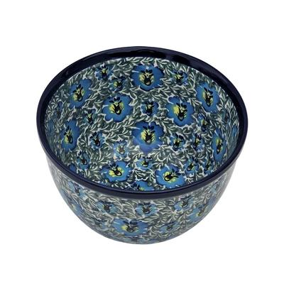 Blue Lagoon 9-Cup Stoneware Mixing Bowl