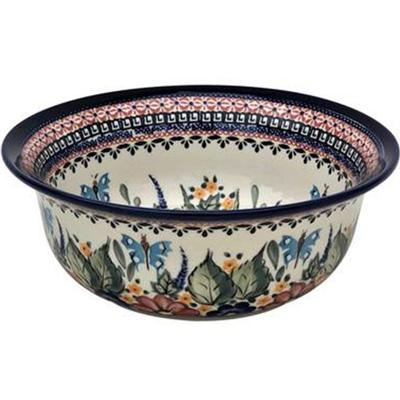 Butterfly Merry Making 61oz Flared Top Stoneware Bowl