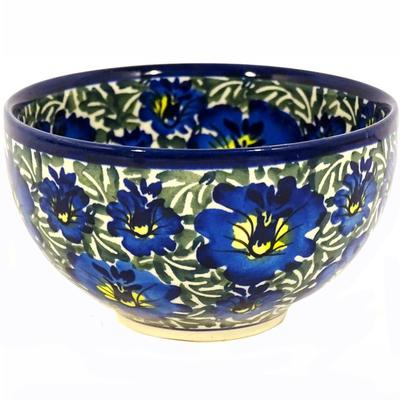 Blue Lagoon Rice Stoneware Bowl