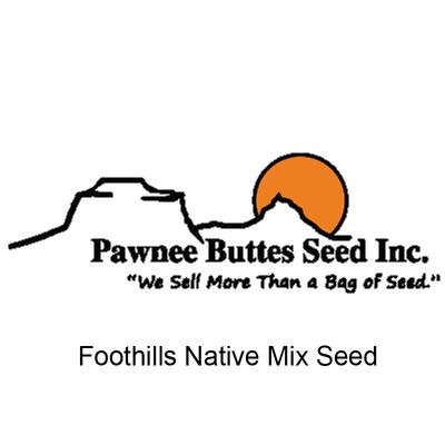 Foothills Native Mix Seed