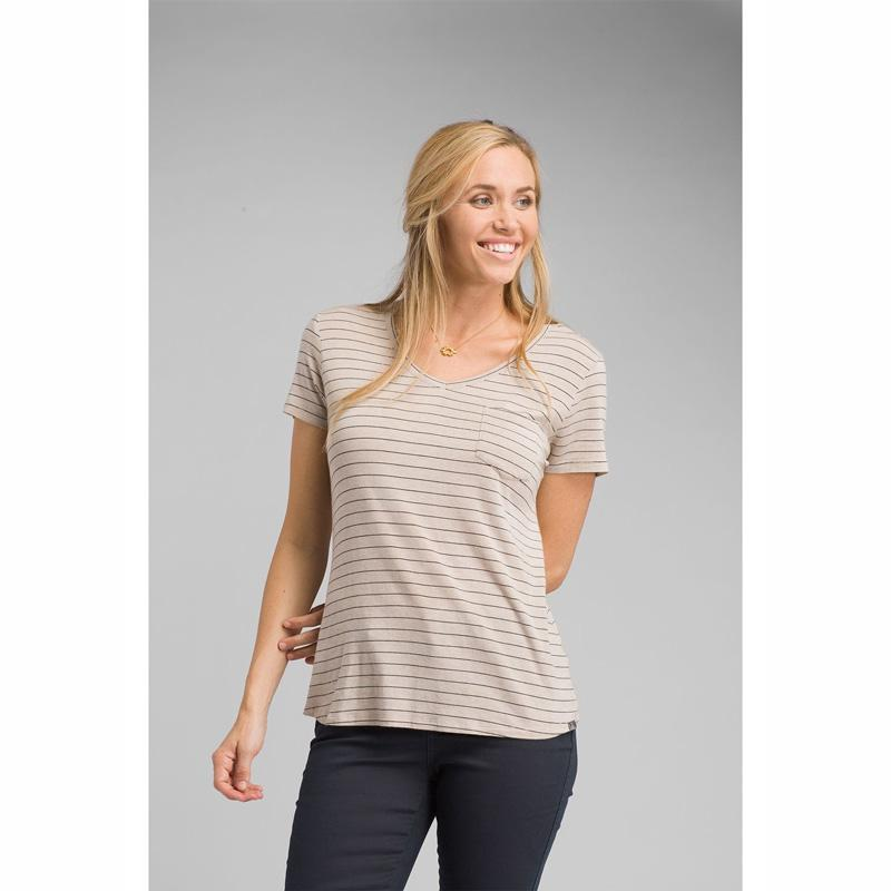 Women's Foundation Short Sleeve V- Neck Shirt