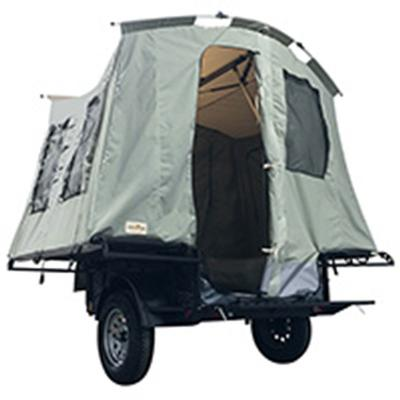 Explorer 4x6 Blackout Utility Camping Trailer