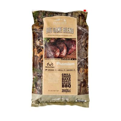 Realtree Big Game Blend Wood Pellets - 33lb