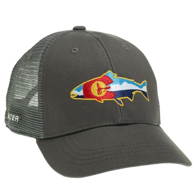 Colorado Fly And Mountains Hat