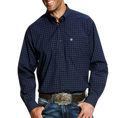 Mens Galdes Long Sleeve Stretch Performance Shirt
