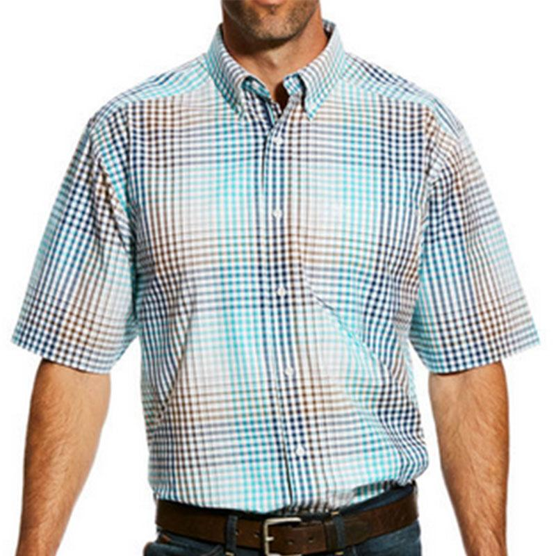 Mens Harby Short Sleeve Performance Shirt